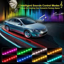Dây Đèn trang trí ô tô Govee 36/48/72 ĐÈN LED Nội Thất Xe Hơi Đèn Nhạc Âm  Thanh kích hoạt Đa màu sắc Dưới Dash Bộ Đèn Kit|Bộ Đèn Xe Hơi