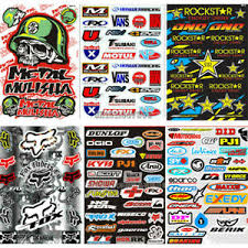 Waterproof Pvc Motorcycle Decal Bike Graffiti Car Sticker Jdm Atv Racing Helmet Ebay