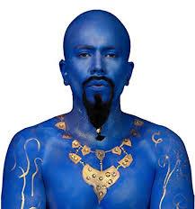 mehron blue genie costume makeup kit
