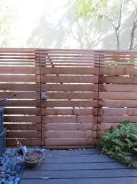 San Francisco Horizontal Privacy Fence Contemporary Exterior 360 Yardware Contemporary Gate Hardware Latch Landscaping Lever Courtyard