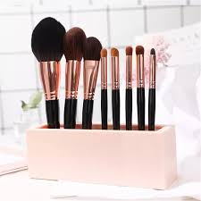 makeup brushes holder stand storage