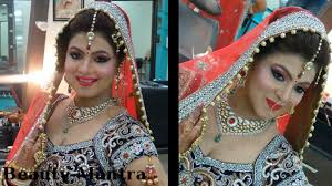 indian bridal makeup by beauty mantra