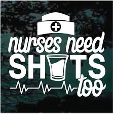 Nurse Car Decals Stickers Decal Junky