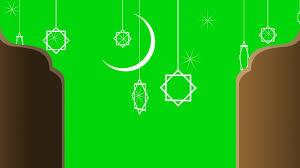 كروما اسلامية كروما خلفية رمضانية للمونتاج والتصميم Ramadan Green