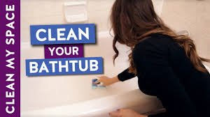 easy bathtub cleaning routine