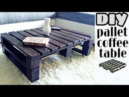 diy pallet coffee table no power