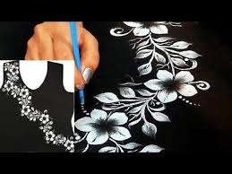 black color kurti design