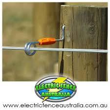Gallagher 20 X Wood Post Live Tip Offset 260mm Electric Fence Australia Electric Fence Wood Post Fence
