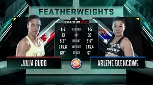 Bellator MMA: Julia Budd vs. Arlene Blencowe - FULL FIGHT - YouTube
