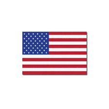 American Flag Reflective Fire Helmet Decal The Bravest Decals