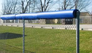 Fence Top Rail Padding 4 Feet Ak Athletic Equipment
