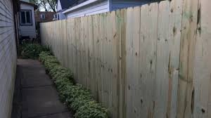 Installing A Wood Privacy Fence In Your Backyard