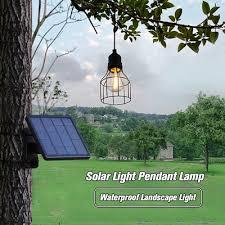 solar light pendant lamp waterproof