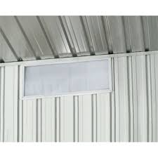 absco sheds 230 x 730mm sliding perspex