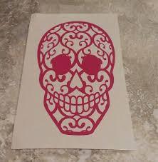 Mobel Wohnen 30 196 Spawn Sugar Skull Muertos Head Shoulders Cape Logo Vinyl Window Decal Maybrands Com Ng