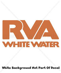 Rva Whitewater Richmond Virginia James River Sports Kayak Die Cut Vinyl Decal Jolash Pl