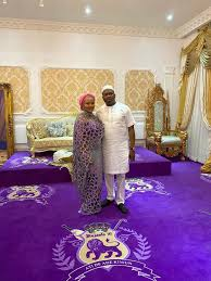Oba Elegushi's 2nd Wife, Hadiza Steps Into The Palace