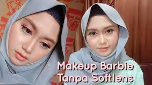 cara makeup ala barbie doll saubhaya