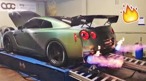 my gtr spits 5ft flames not
