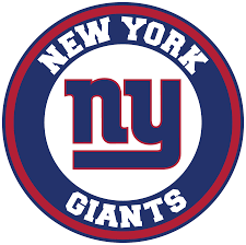 New York Giants Circle Logo Vinyl Decal Sticker 5 Sizes Sportz For Less