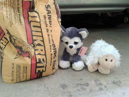 diy concrete animals sewing stuffed