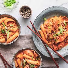 Spicy Korean Rice Cakes (Duk Boki) Recipe