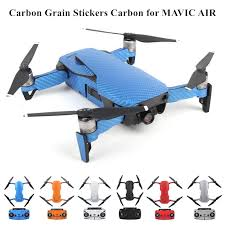 Waterproof Pvc Carbon Grain Graphic Stickers Full Set Skin Decals For Dji Mavic Air Drone Body Arm Battery Controller Camera Drone Decals Aliexpress