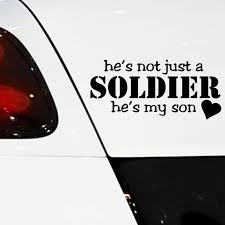 Warm Mother Love Car Sticker Soldier Home Auto Vinyl Waterproof Decor Auto Detailing Funny Art Window Stickers For Cars Styling Car Stickers Aliexpress