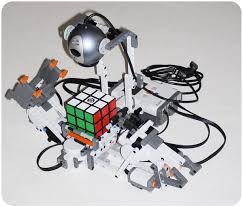 the first nxt lego rubik s cube solver