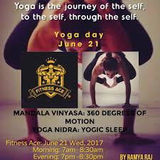 yoga day 21st june 2017 at kaveri nagar