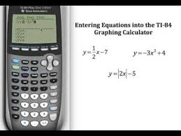 ti 84 graphing calculator algebra