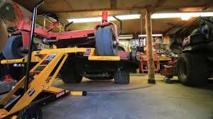 lawn mower lift jack cub cadet htl550