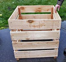 Cedar Wood Compost Bin Stack Able Buy Online In Cambodia At Desertcart