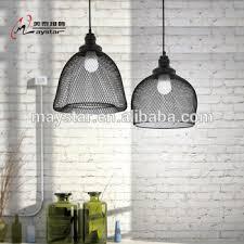 modern simple iron net pendant light