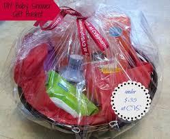 diy baby shower gift basket idea for