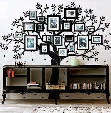 Photo Frame Tree Decalwallconsilia Com
