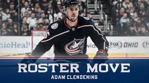 Blue Jackets recall Adam Clendening from Monsters