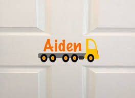 Kids Door Name Decal Wall Decal Custom Door Sign Etsy Kids Door Signs Custom Vinyl Decal Art Wall Kids