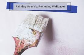 painting over vs removing wallpaper
