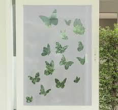 Multiple Flying Butterflies Window Sticker Tenstickers