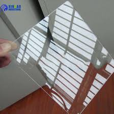 cast 3mm 2mm clear acrylic sheet