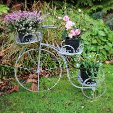 tricycle garden plant pot holder