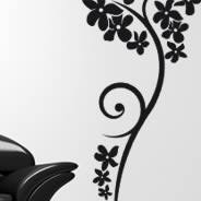 Flower Wall Decals Floral Wall Stickers For Your Home Or Office