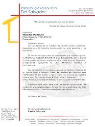 Carta De Invitacion Al Culto De Aniversario 2016 Misionero