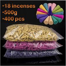 500g 400pcs Natural Tower Incense Indian incense Smoke herbal ...