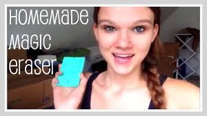 craft homemade magic eraser cleaning
