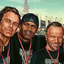 Steven Ogg, Shawn Fonteno, & Ned Luke   Grand theft auto, Gta 5, Gta