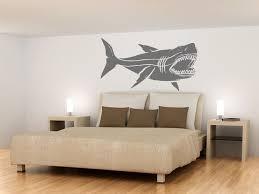 Huge Megalodon Shark Jaws Great White Vinyl Wall By Etsywalls Via Etsy Shark Room Kid Room Decor Wall Decals