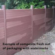 Walnut Composite G Boards 1 83m W X 0 3m H Lemon Fencing Specialist In Essex