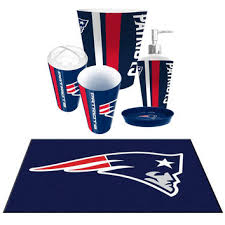 new england patriots nfl 6pc bath from